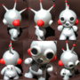 Tiny Tin Bot Munny by TheDisappearingGirl