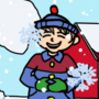 A Boy that Laughs at Snow