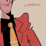 Lupin III and Jigen chillin