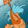 Koi Fish by Gatho