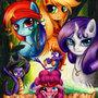 Ponies of the caribbean by MiniNeko321