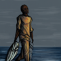 Somali Fisherman by Moors