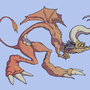 polite dragon by Emanhattan