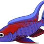 Purple Fish by BeeClock