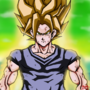 Super Saiyan Goku by fadedshadow