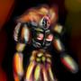 10 min speedpaint fire spirit by Zanroth