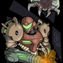 Samus, Behind You! by lucidious89