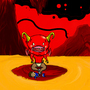 leo & satan baby by Meat-Grinder