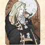 Castlevania/ Art Nouveau by samchappy
