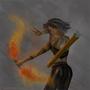Fire Archer by JewelMaiden