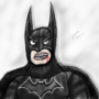 You made Batman mad. by C3Z4rtv
