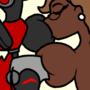 Red*Petunia Breast 69