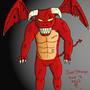 Fire Gargoyle by Xyranox