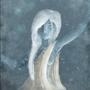Blue woman by KayaKure