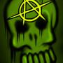 Anarchy skull by Rennis5