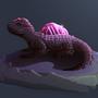 Moonbathing Gem Lizard by Bentusi-Paladin