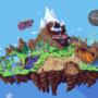 angel island animated pixel art