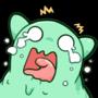 Scared Slime Emote