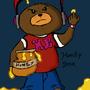 DJ Honey Bear by OddNinja
