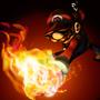 Fireball Mario by inkbyte