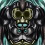 Skull golem by Zanroth