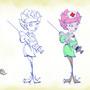 Flower Nurse Process by Jennaveve