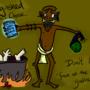 Cannibals Agree: Bath Salts! by Gnomophiliac