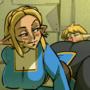 mGTS Zelda grinds on Link
