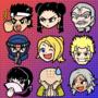 Virtua Fighter full emoji set
