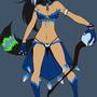 Wildian Mage Kitsora by AuraSorceressKitsora