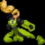 Green Lantern Sonya Blade