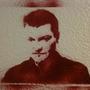 Charlie Brooker Stencil by AndyJones
