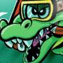 Warioland 4 crocodile