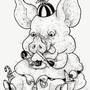 Vaughnda's Pig by RobLovelett
