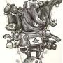 Hippos by RobLovelett