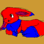Lance THE RED AND BLUE EEVEE by BOLT100