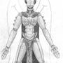 A'Le Levitus design drawing by Ynek
