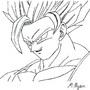 SSJ2 Goku by LSSJSnowV