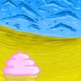 Totally Beachin' by InkSplodge