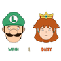 Luigi and Daisy by ClassyRaptor