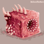 Flesh Cube