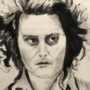 Sweeney Todd in Charcoal