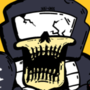 Tankman skeleton