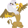 gilda and her sandvich by megadrivesonic