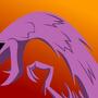 purple blob by megadrivesonic