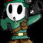 Military Shy Guy by foxfinity