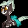 feral zebra by megadrivesonic