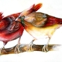 Cardinals by daigonite