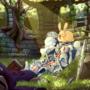 It is the rabbit!
