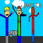 Jakes TV Characters by JakesTV